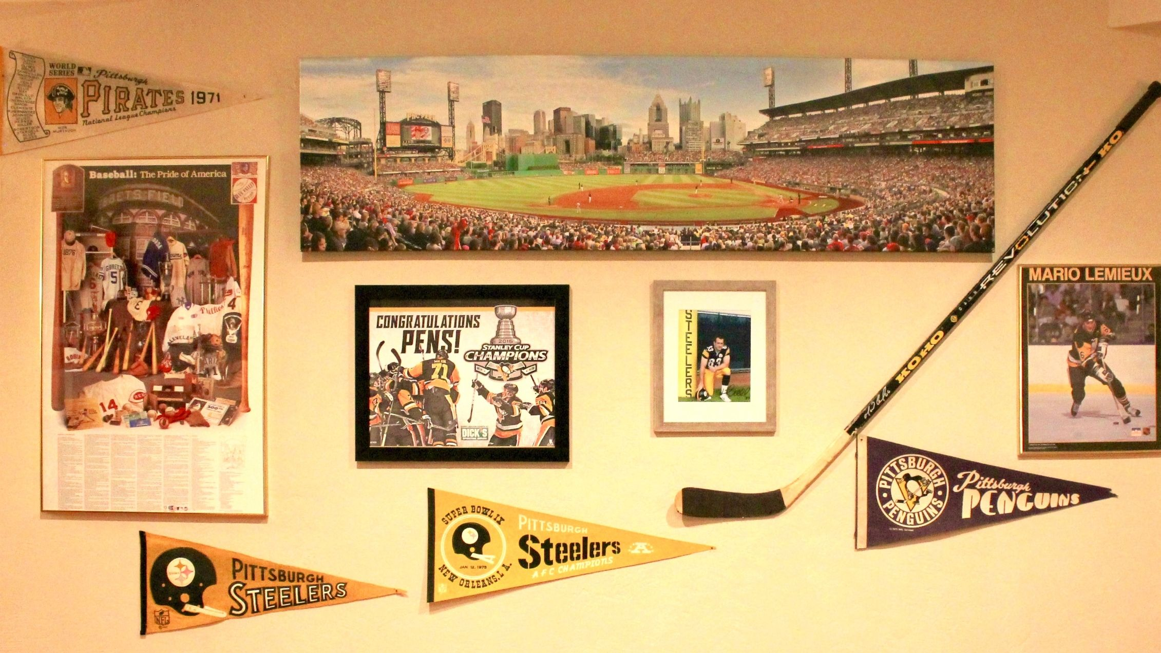 How to Make a Sophisticated Sports Memorabilia Wall | House Tipster