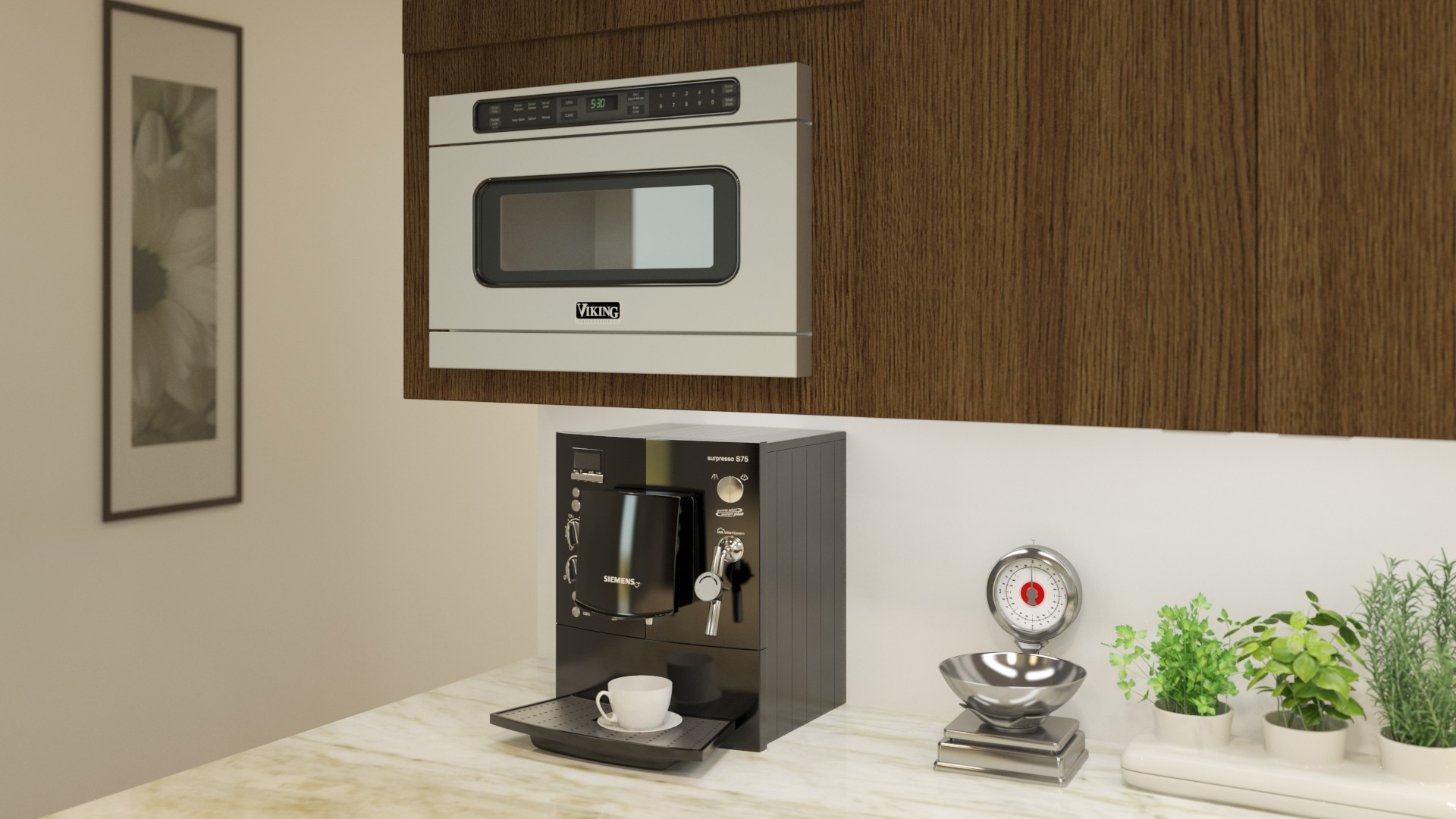 Where You Should Place A Microwave In Your Kitchen
