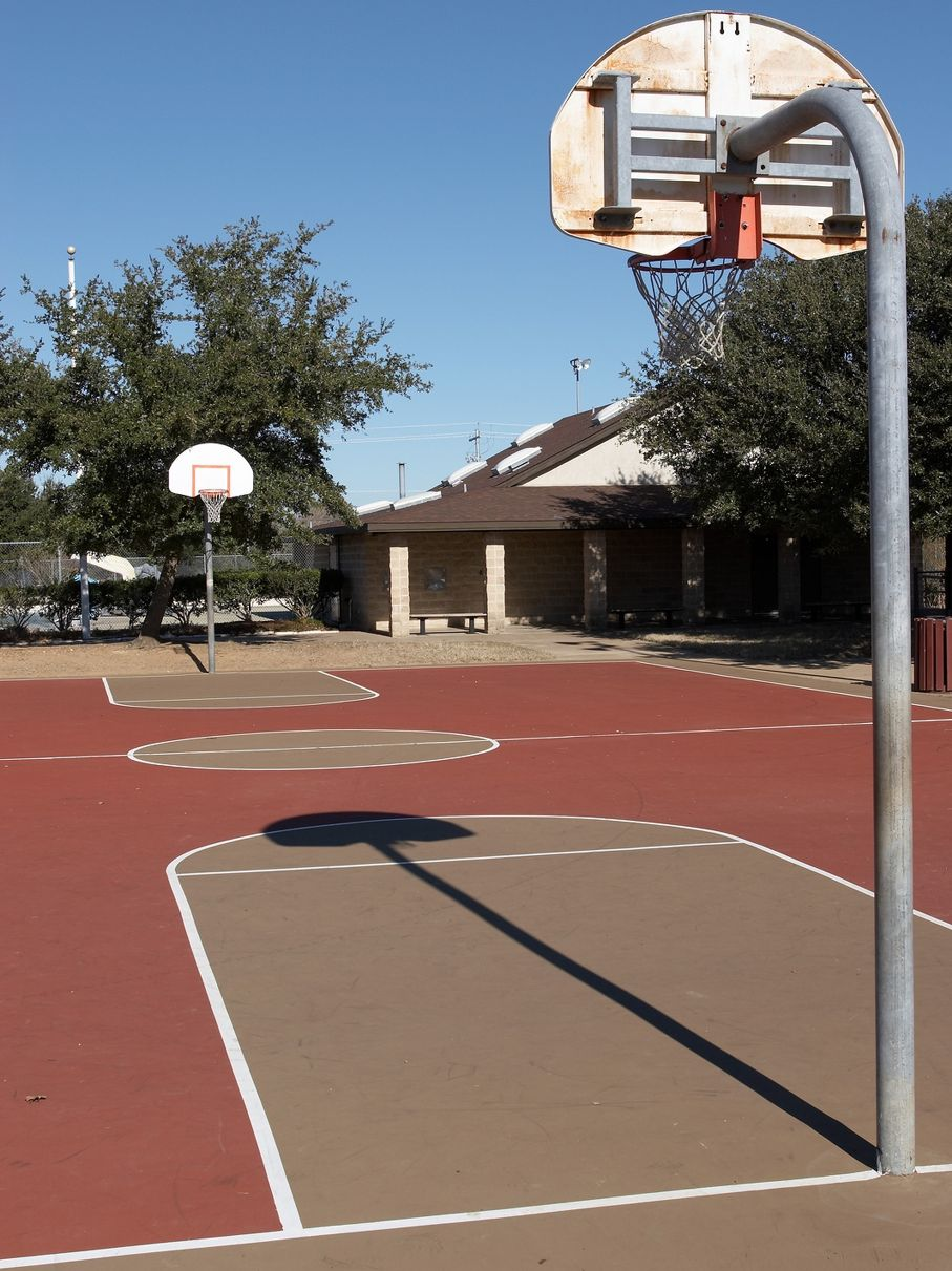 Build A Backyard Basketball Court