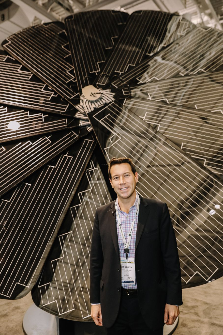 Making a Statement with SmartFlower Solar at Greenbuild