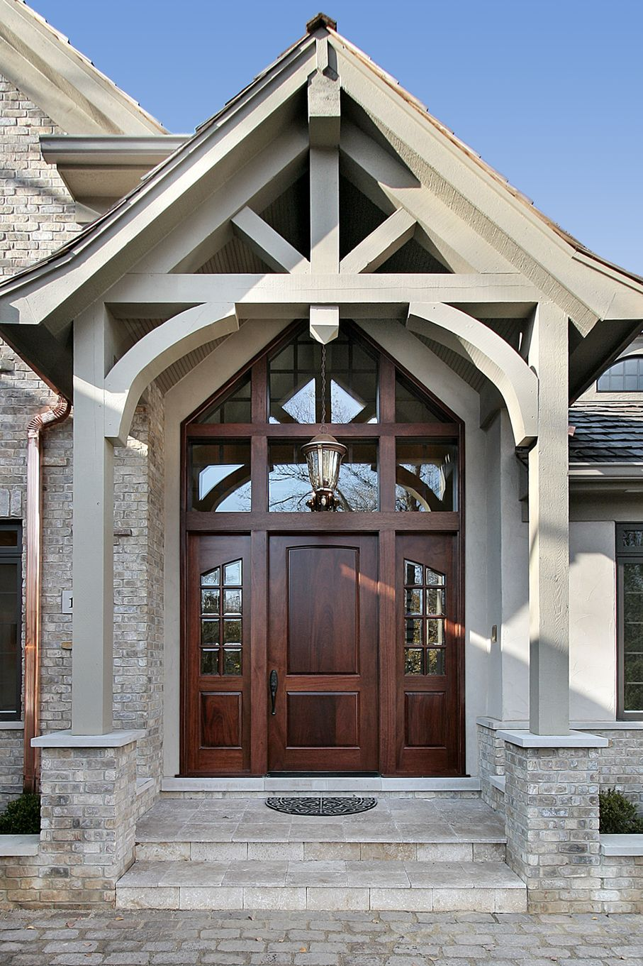 Entry to upscale home