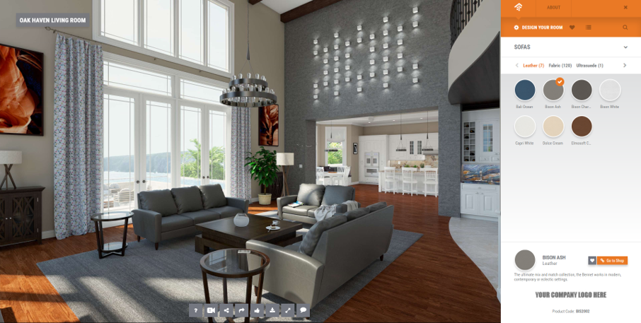 Oak Haven Virtual Living Room: Let the Sunshine In | House ...