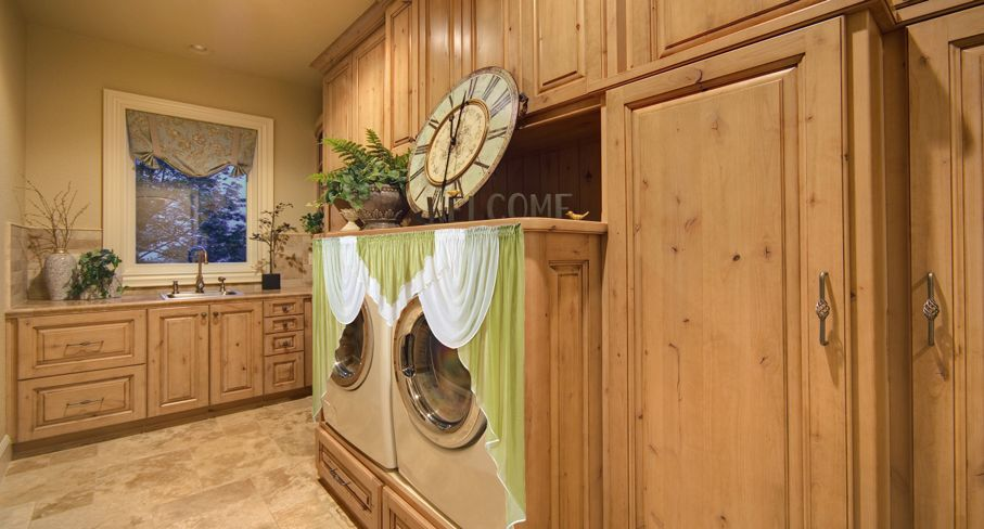 Useful Ideas For Hiding The Washer And Dryer