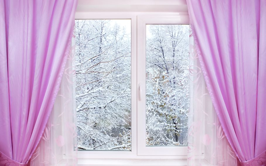 Winter from window