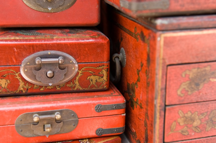 Chinese Antique Boxes
