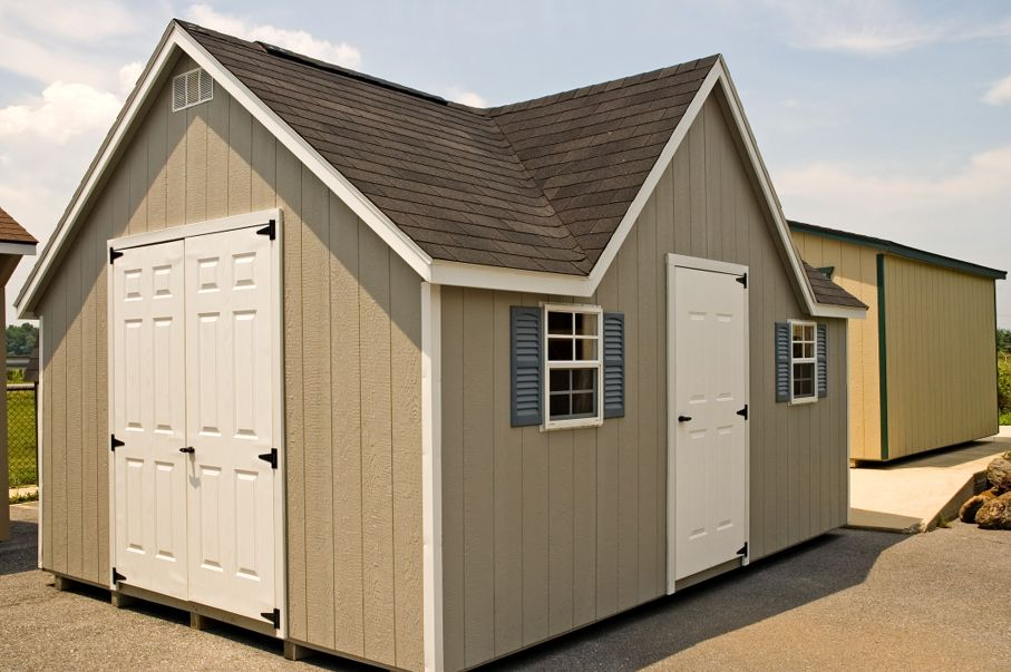 New Utility Storage Shed
