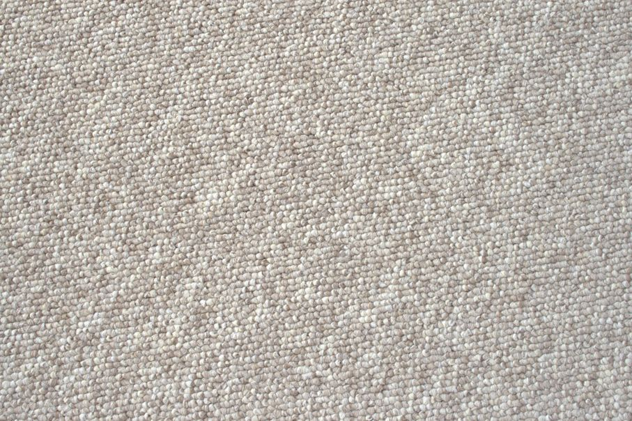 Beige nylon carpet, uncut level loops as used in high-traffic areas