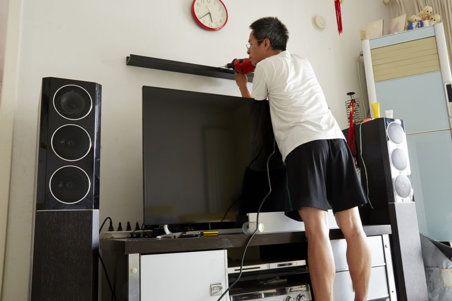 Working on home surround system