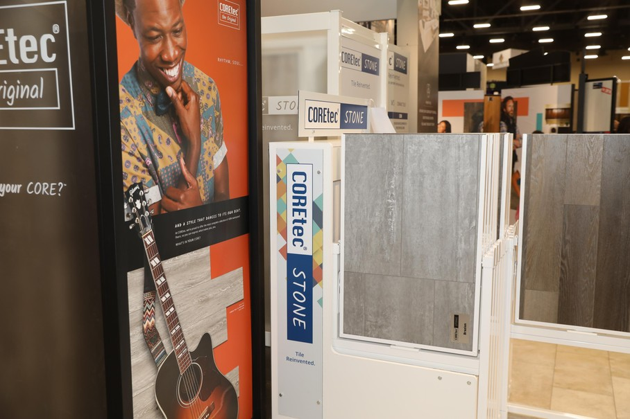 Coretec Stone And More From Usfloors At Tise