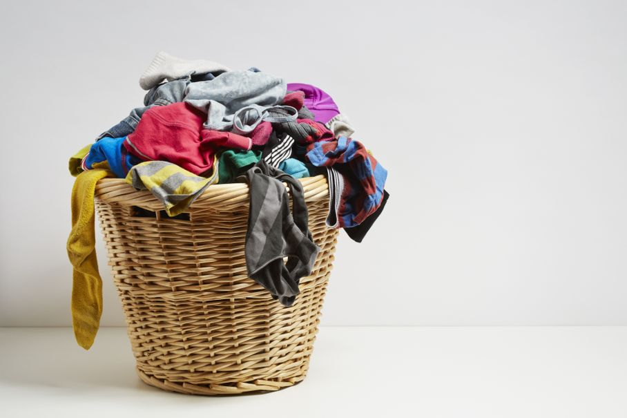 Basket full of socks