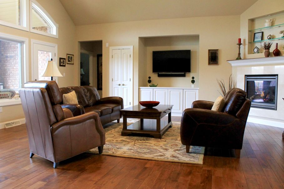 Create An Ideal Open Concept Living Room Setup For Two Focal Points - Living-room-setup