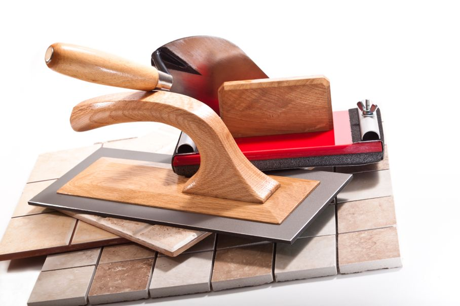 Tools for working with ceramic tiles