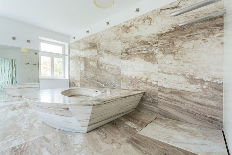 Pros And Cons Of Natural Stone Tile For Bathrooms: The Best Bathroom Flooring Options: Pros & Cons