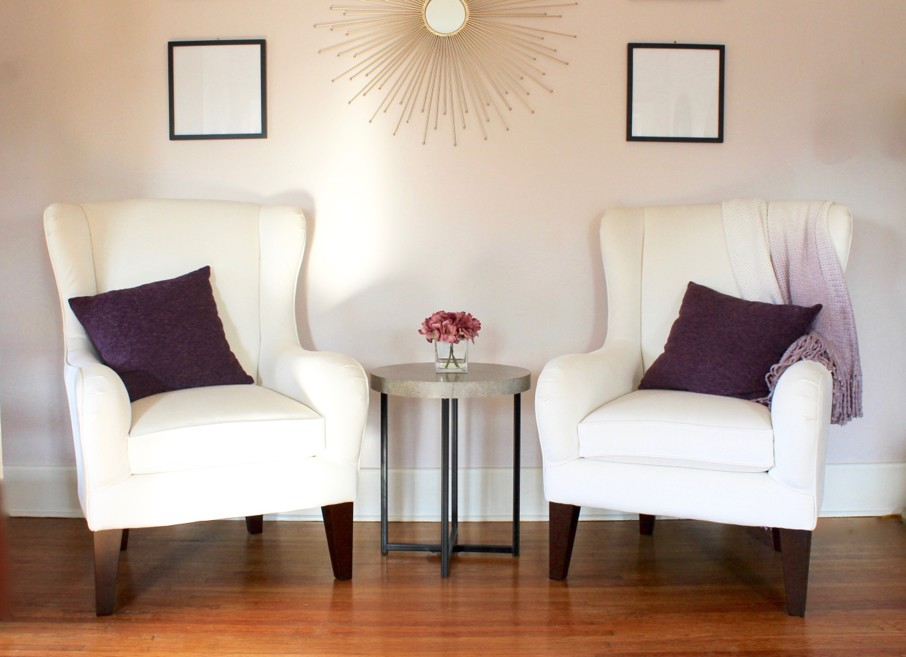 Interior Design Advice For Creating A Sitting Area With Wingback Chairs