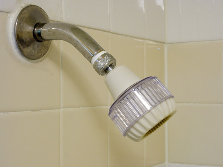 Adjustable Low Flow Showerhead