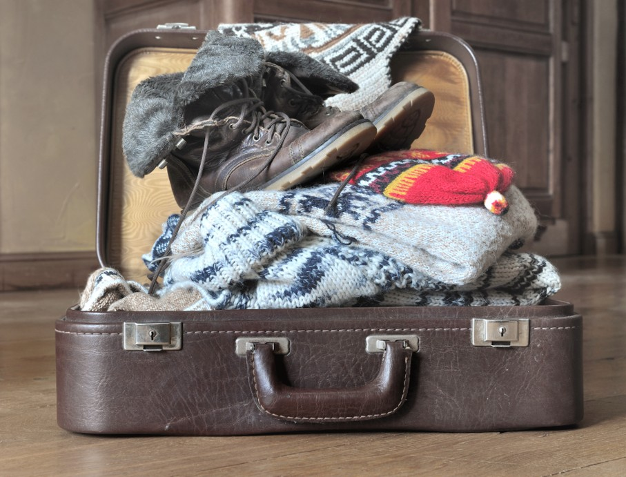 Warm cloths for winter