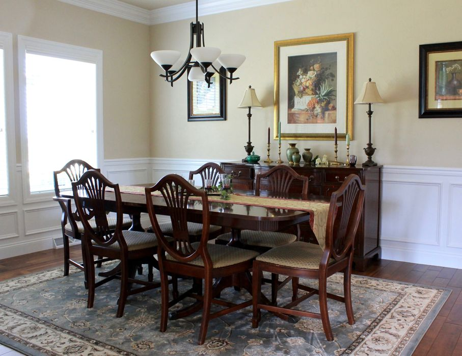 A Flair For Formality Create Neoclassical Style In Your Dining Room