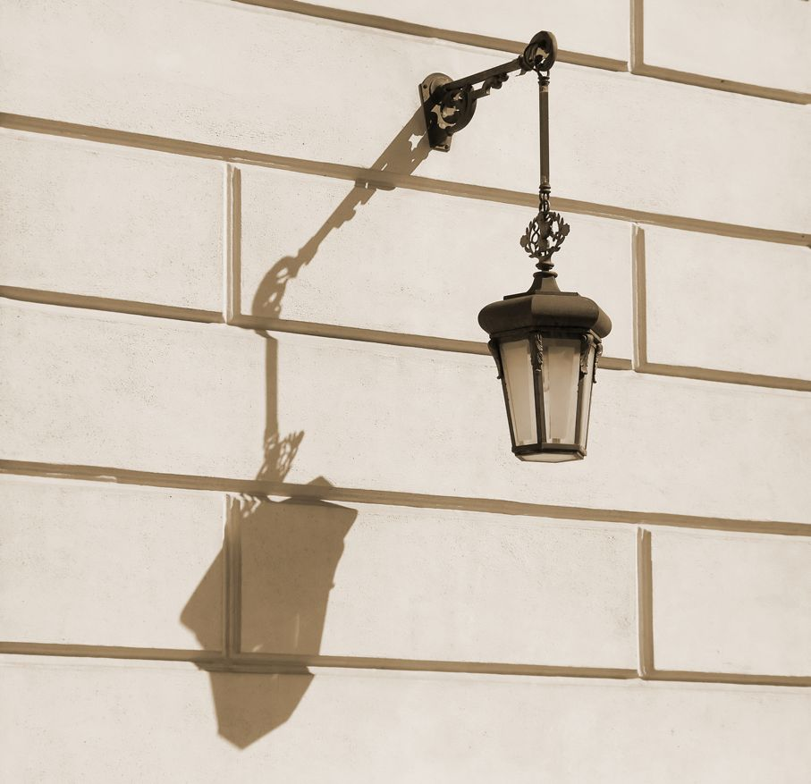 Old fashion lamp
